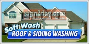 Pressure washing advertising