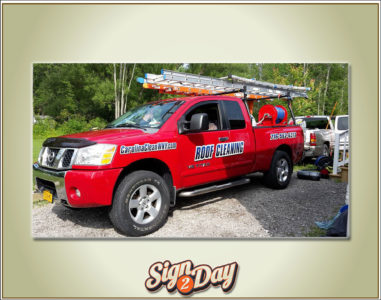 Vehicle wrap by Sign2Day